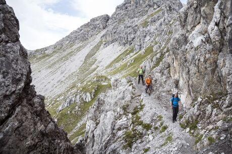 Túra v tyrolských Alpách