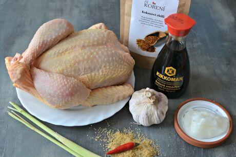kuřecí satay