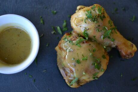 grilované kuřecí kousky