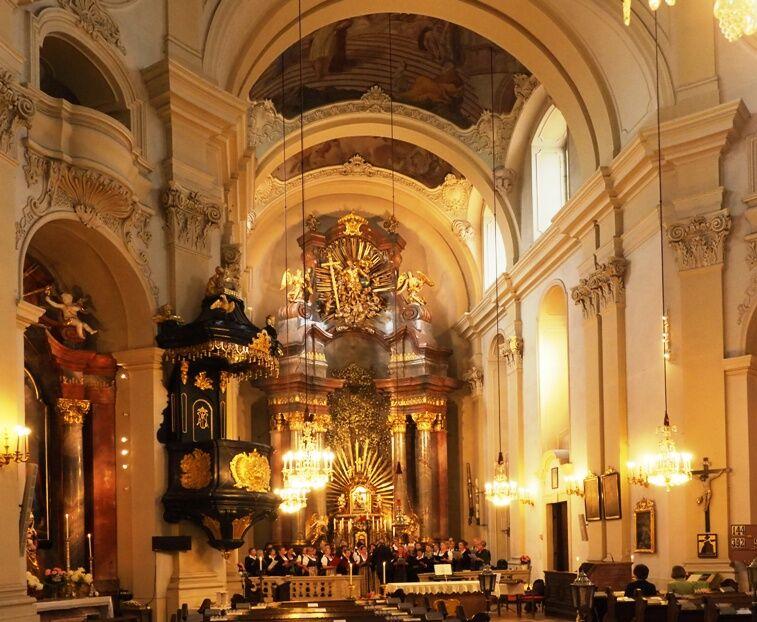 Poutní kostel Maria Dreieichen
