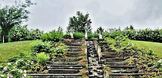 Altenburg - zahrada náboženství
