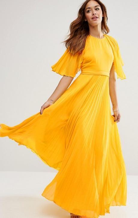 žlute šaty