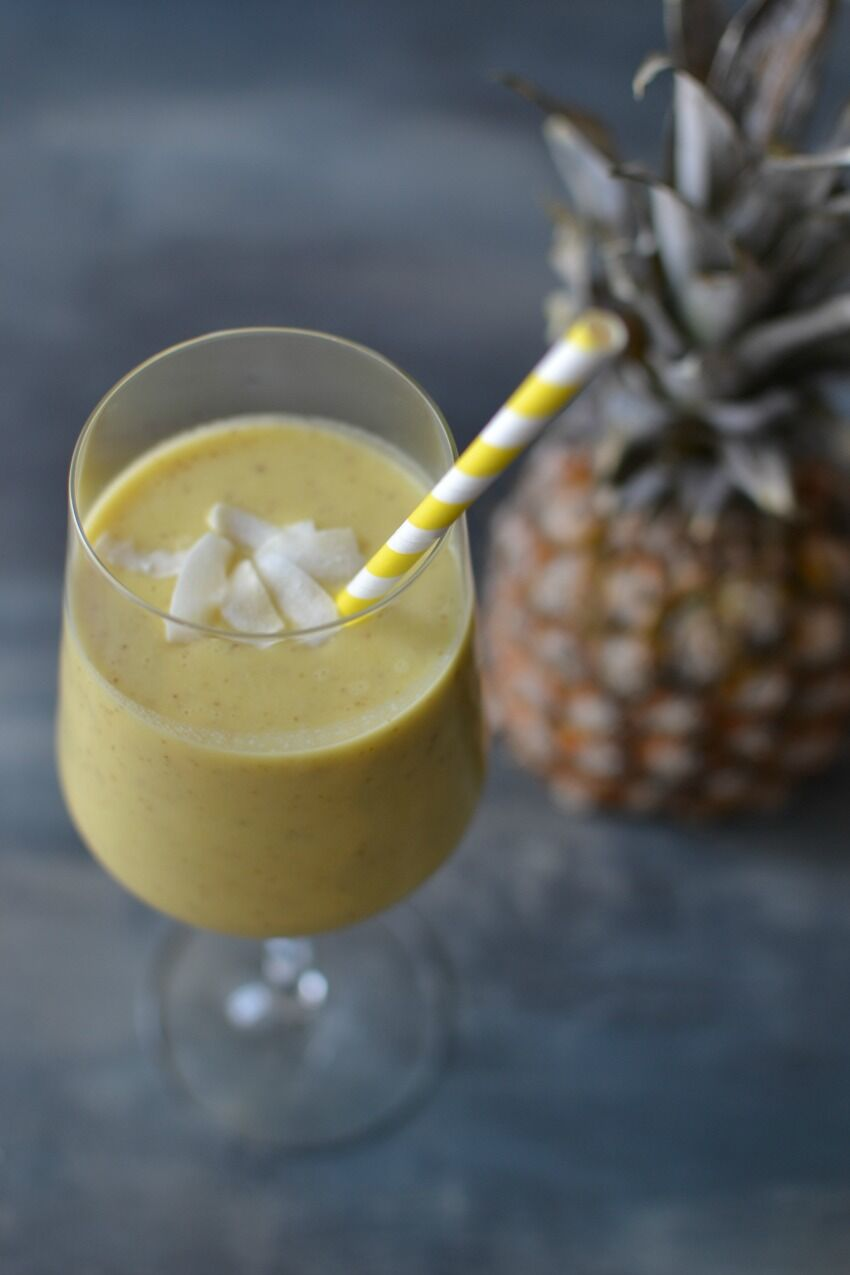smoothie s ananasem