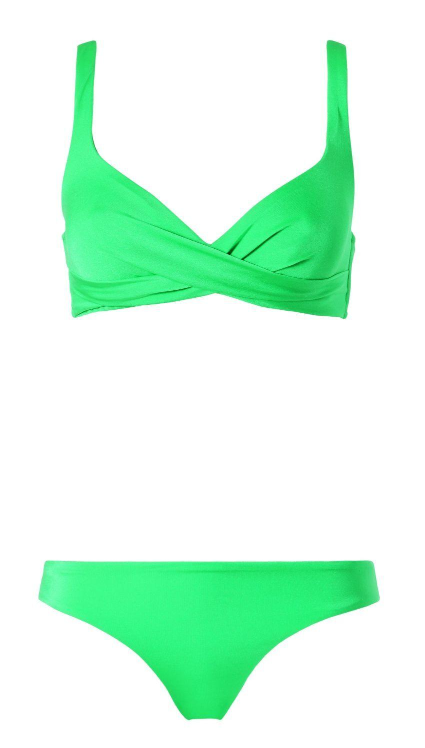 zelené plavky Calzedonia