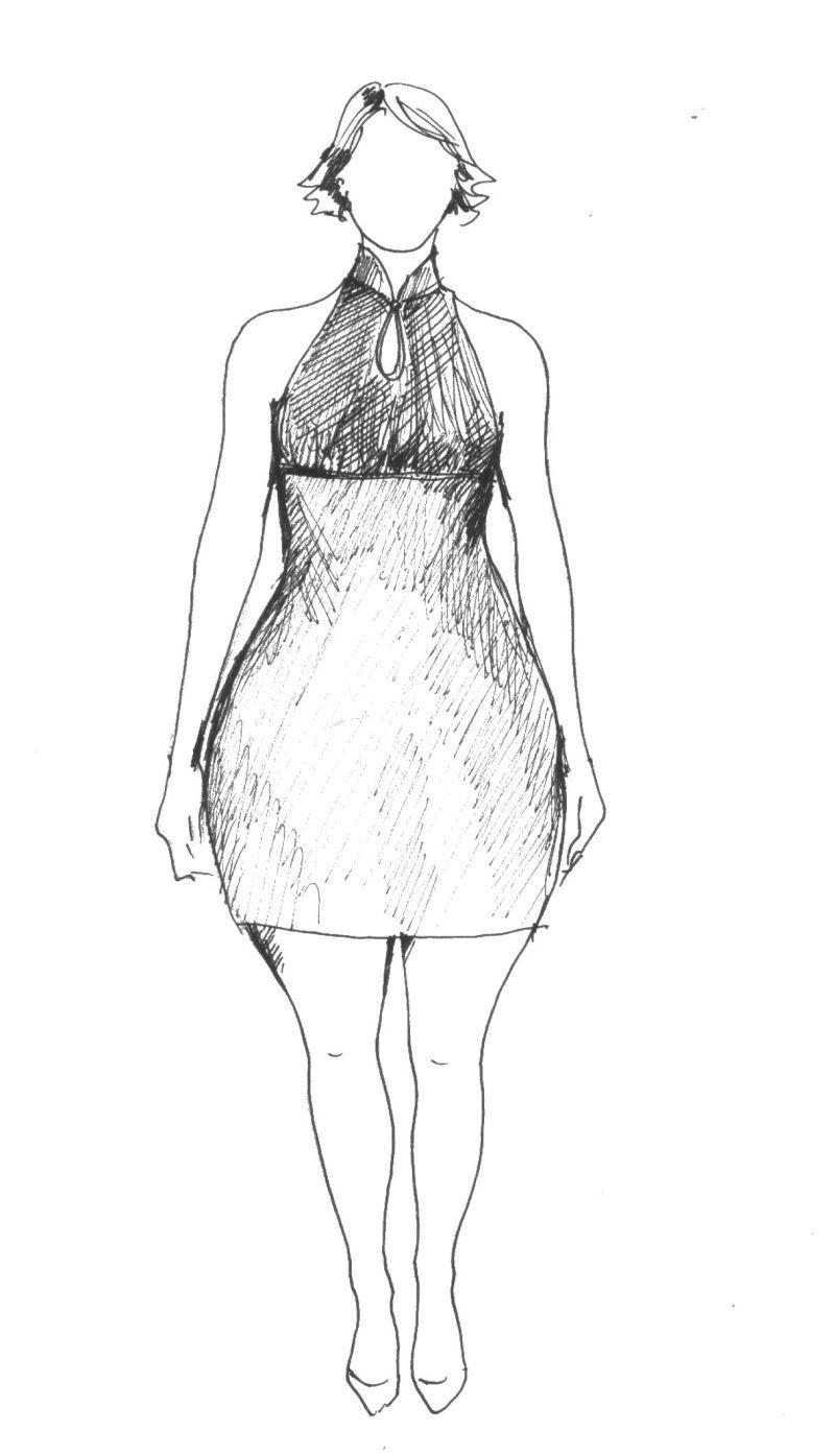 uplé šaty