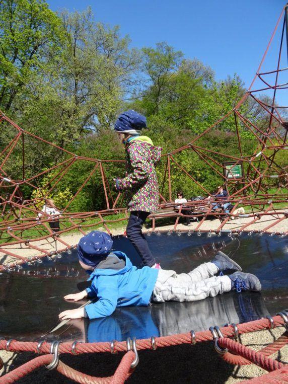 děti ve Stromovce
