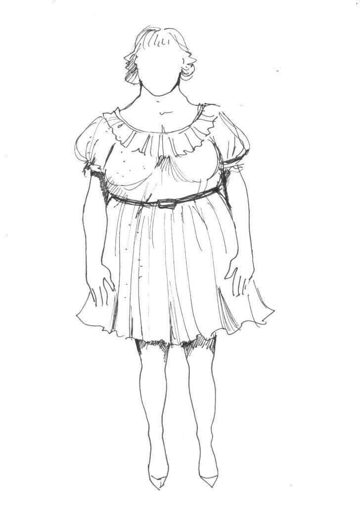zdobné šaty