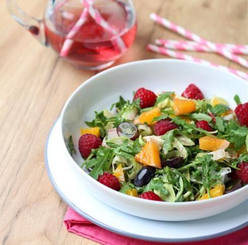 jupi salat s malinami