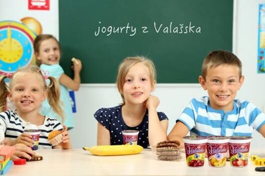 jogurty a děti
