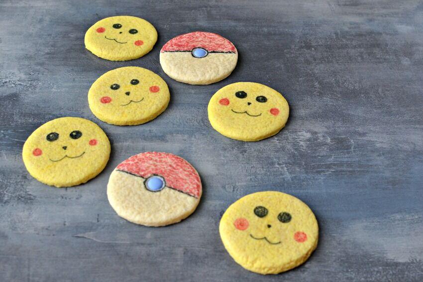 pokémon sušenky