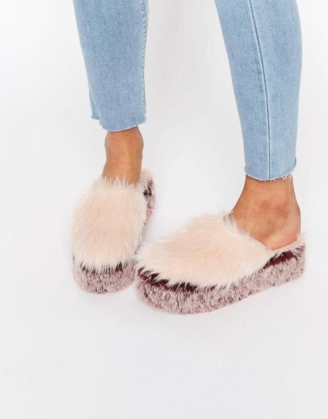 chlupaté boty