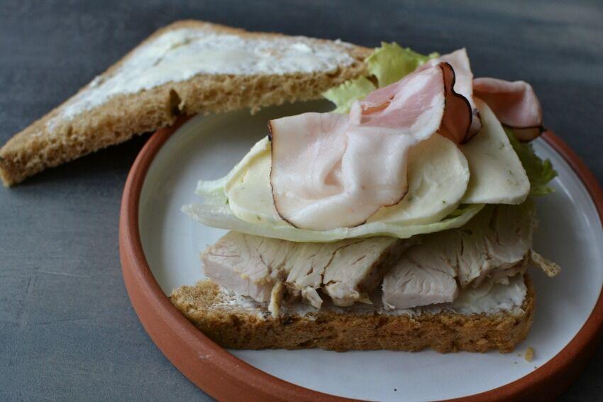 svačinový sendvič