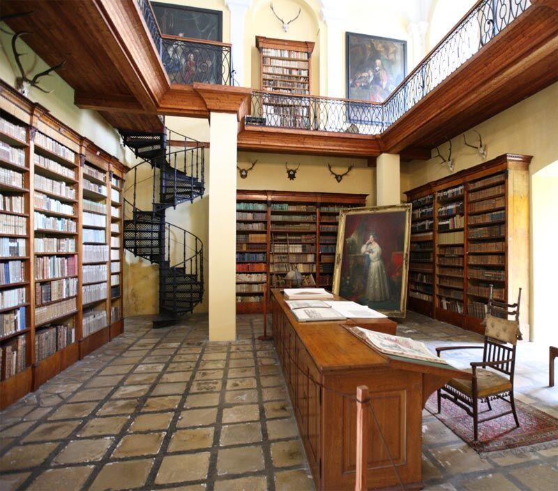 Knihovna rodu Windischgrätz, Kladruby