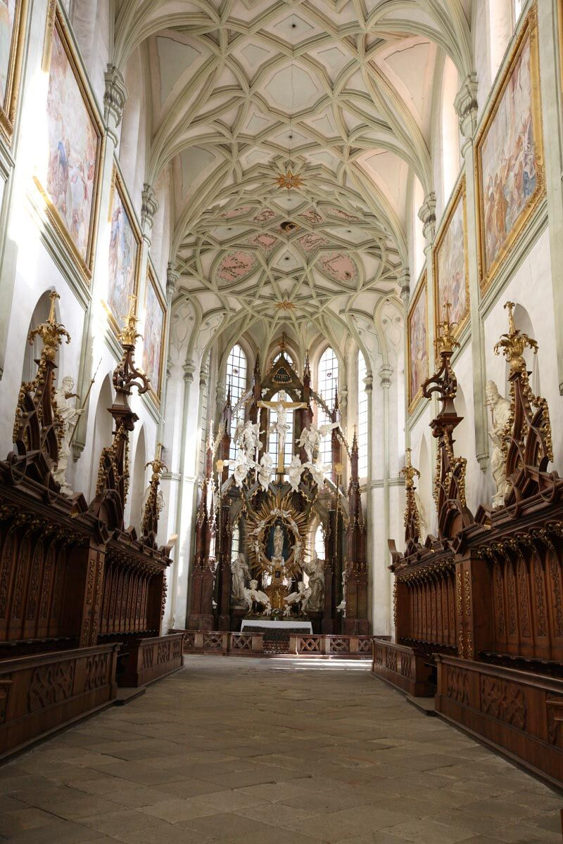 Klášterní kostel Nanebevzetí Panny Marie, Kladruby