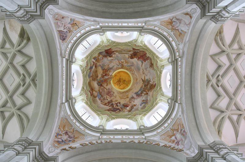 klášterní kostel Nanebevzetí Panny Marie, sv.Wolfganga a sv. Benedikta, Kladruby