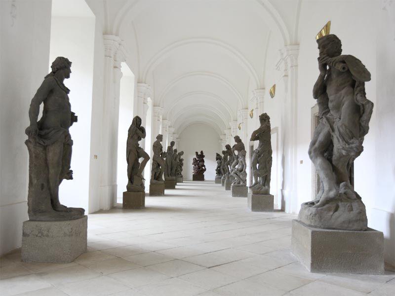 Lapidárium soch Matyáše Bernarda Brauna, Kladruby