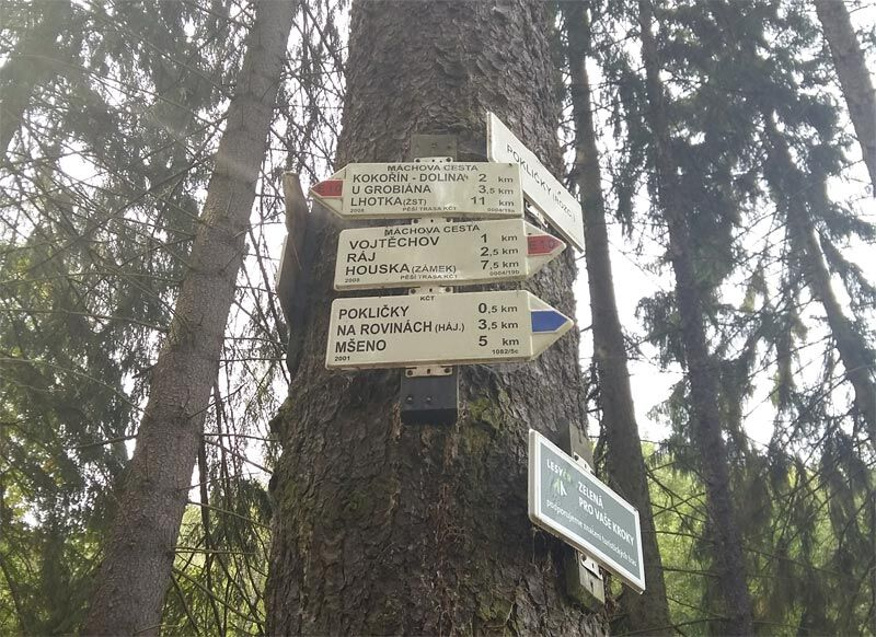 ŽENA-IN - Tip na podzimní výlet  Z Pokliček na hrad Houska ... 2cb22e696b