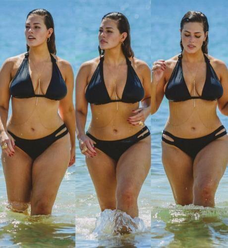 c526ac145 ŽENA-IN - Kyprá modelka Ashley Graham se za své křivky rozhodně nestydí