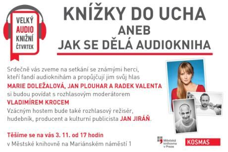 audio knihy