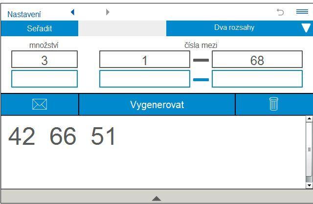 generátor náhodných čísel