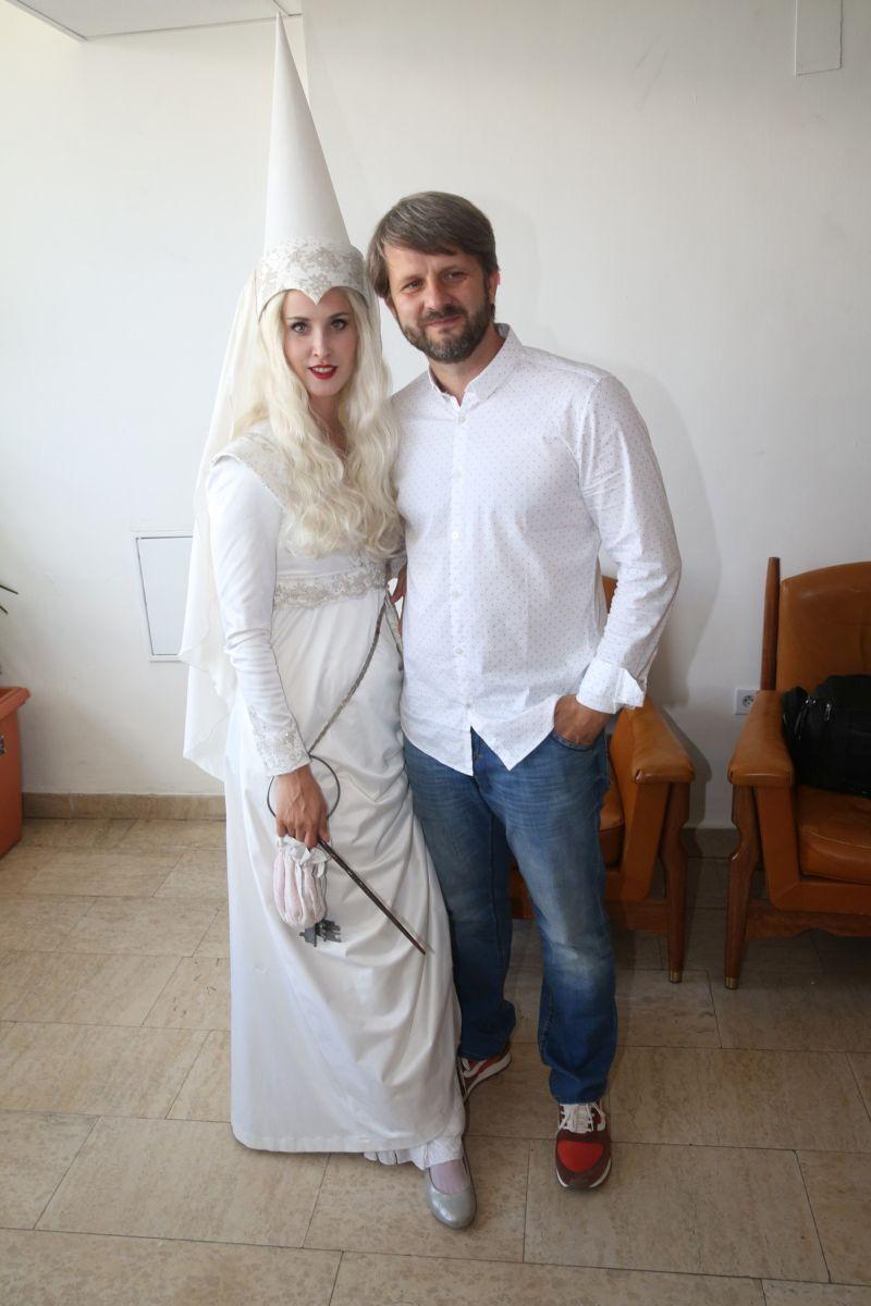 Jana s manželem