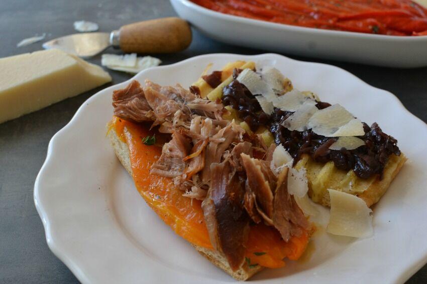 sendvič s krůtím masem