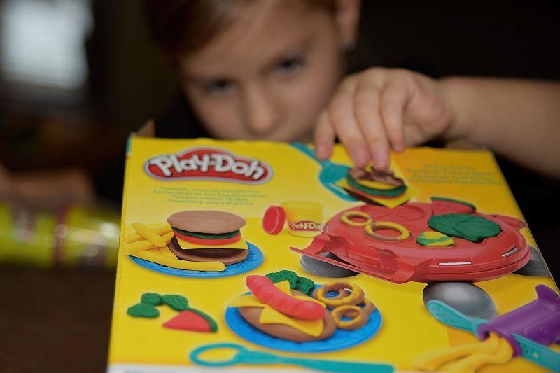 Matylda a Play-Doh