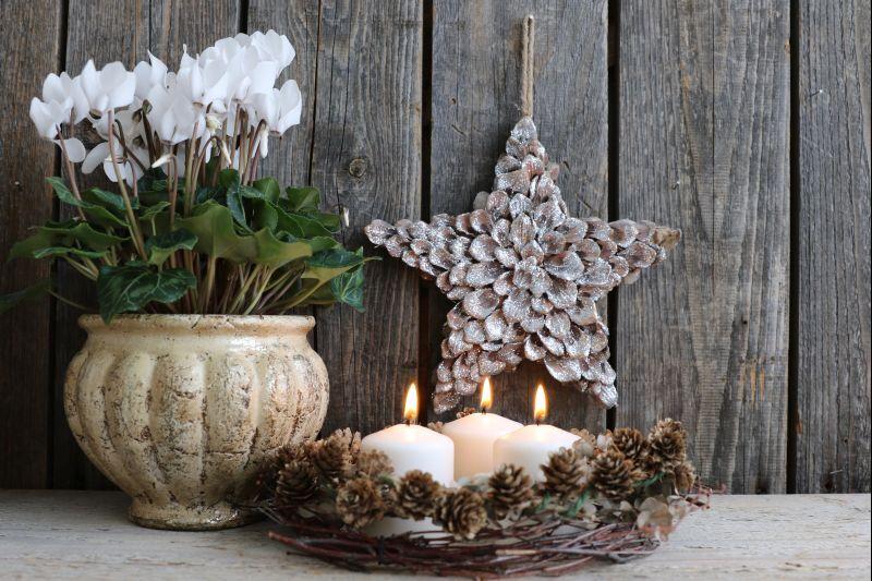 barmbořík vánoční dekorace