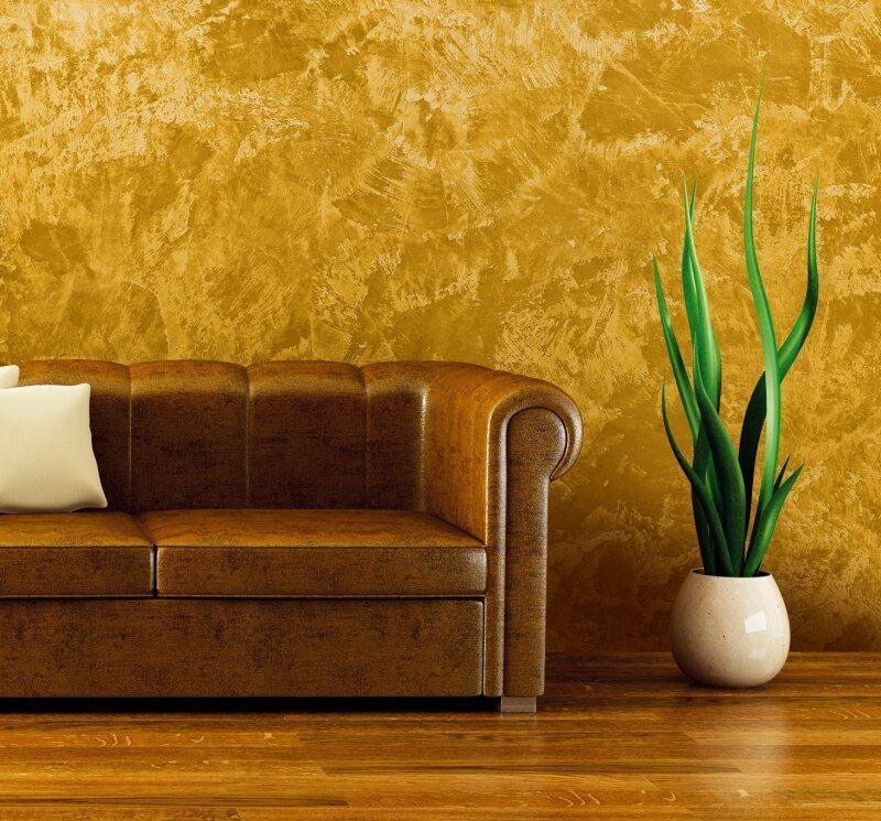 dekorativně upravené stěny
