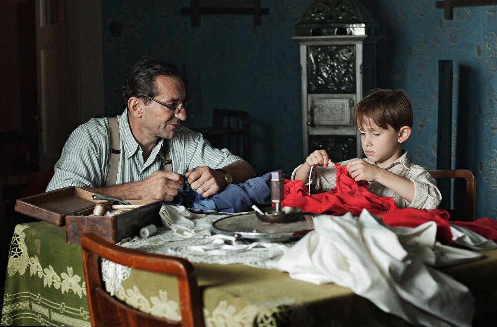 Ondřej Vetchý jako tatínek v Po strništi bos