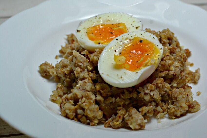 pohanka s vajíčkem