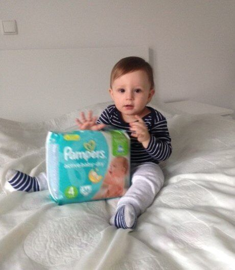 plenky Pampers Active Baby-Dry