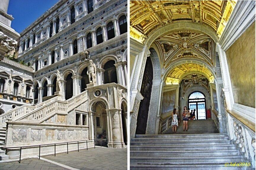 Schodiště obrů a zlaté schody