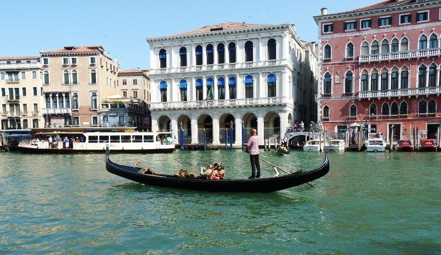 Gondola na kanále