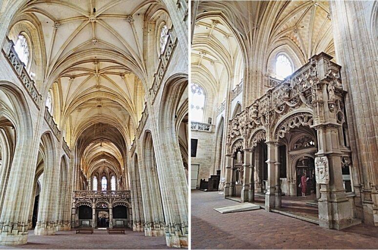 Klášterní kostel - interiér