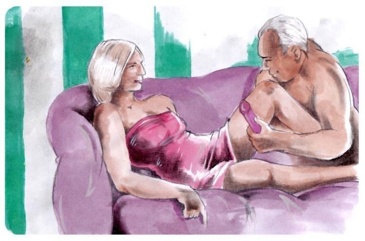 Kreslené sexuální karikatury