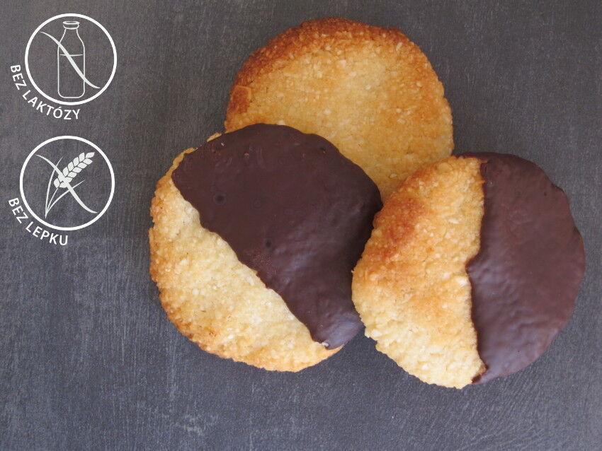 bezlepkové mandlové sušenky