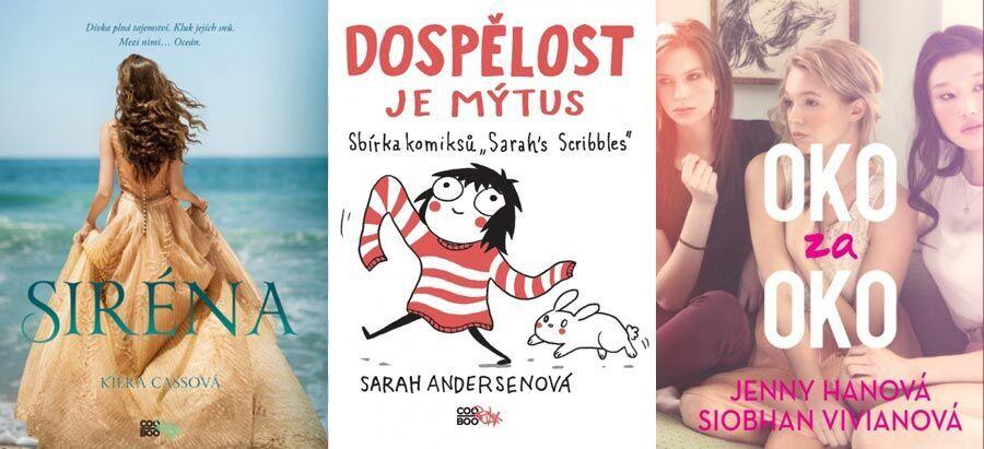 Knihy, které budou bavit puberťáky