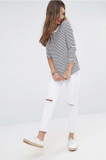 ŽENA-IN - Noste bílé džíny  6 tipů f2f80a9acf