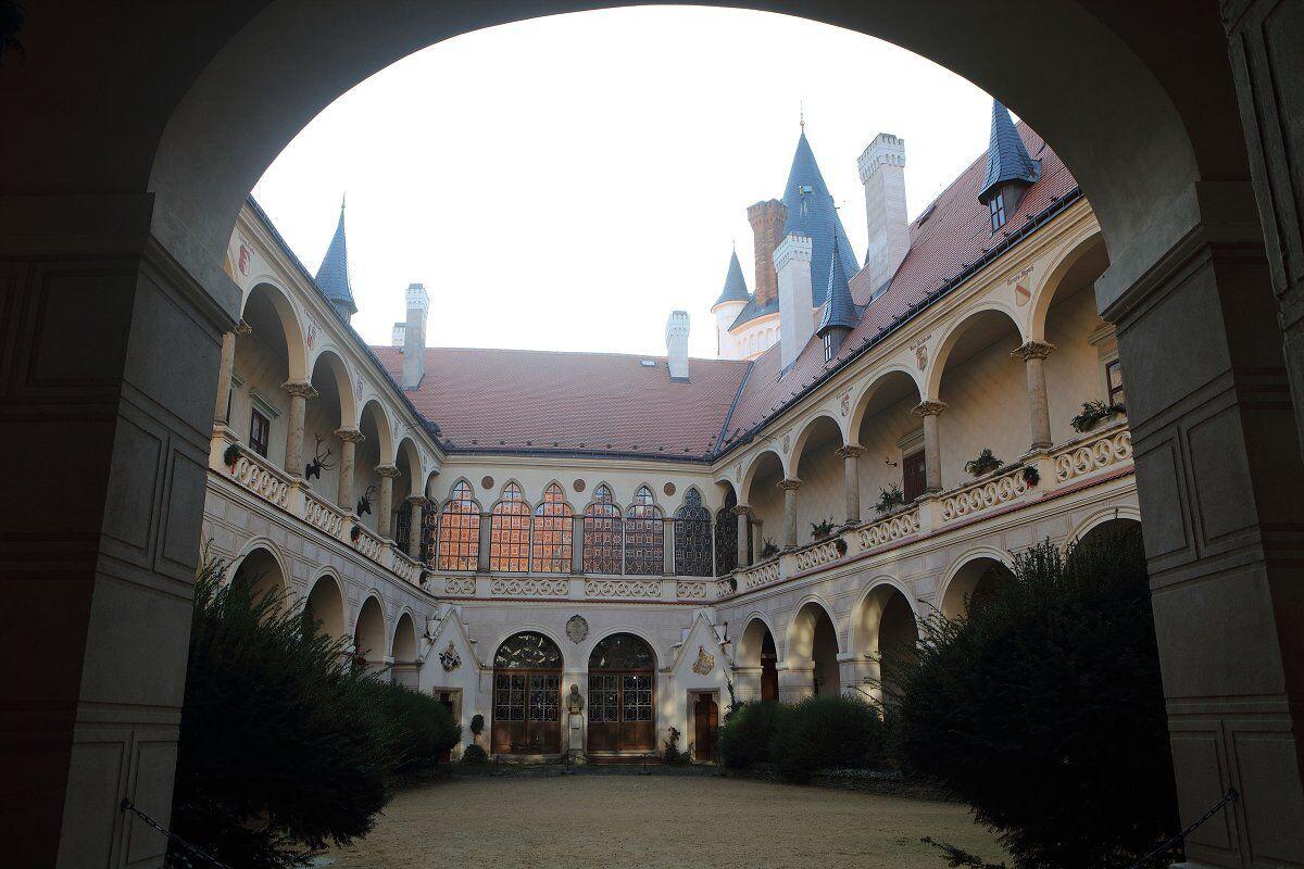 zámek Žleby, foto: Petr Macák