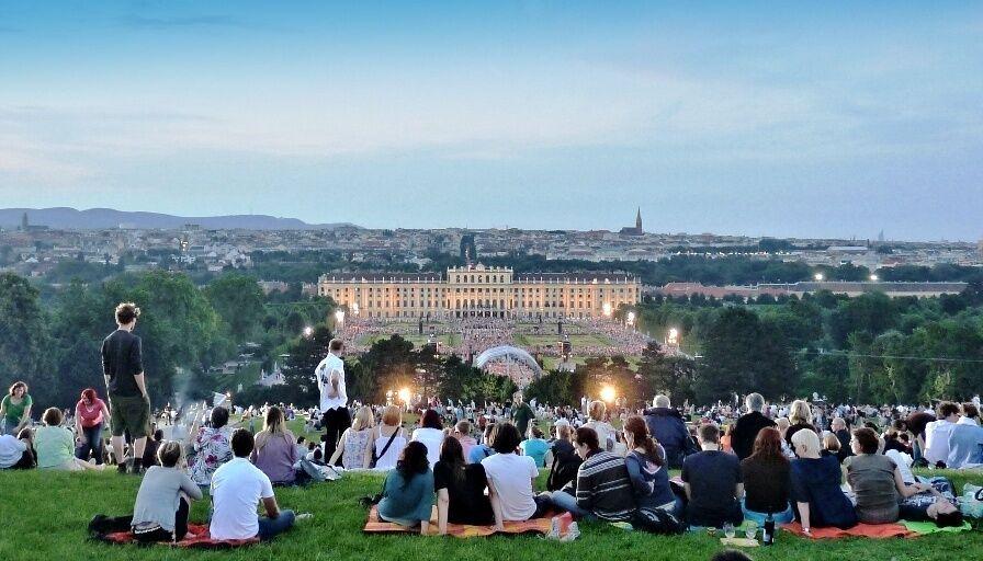 Koncert v Schönbrunnu