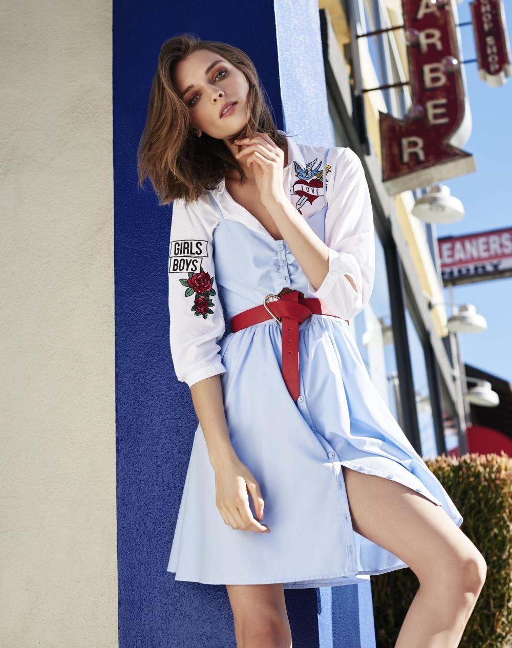 fa20d8372e6 ŽENA-IN - Klasika v podobě košilových šatů je zpět! Propadnete ...