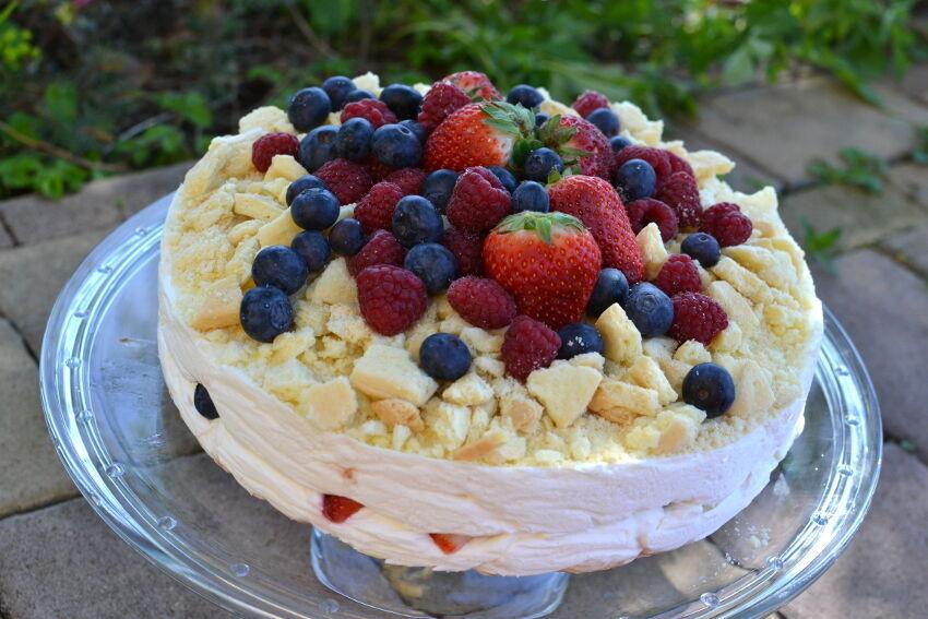 mascarpone dort s ovocem
