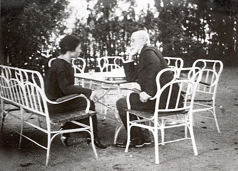 Masaryk +Vlasta Kálalová