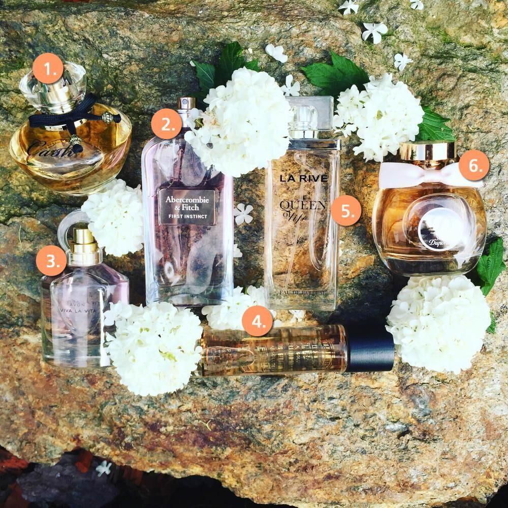 parfémy kompozice