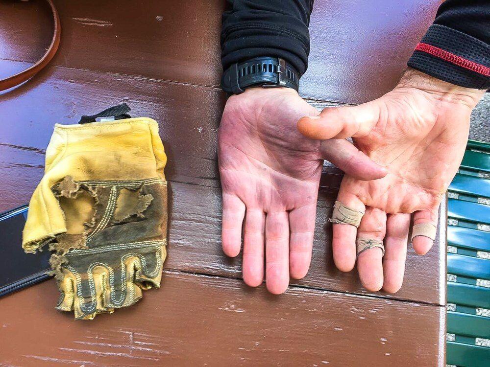 Bez rukavic na feratu nechoďte i s nimi to bývá makačka
