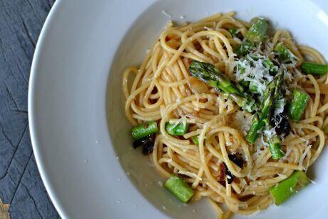 chřestové špagety