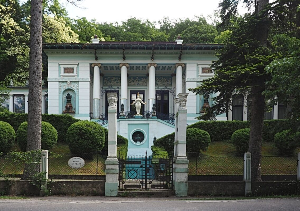 Wagnerova vila - průčelí