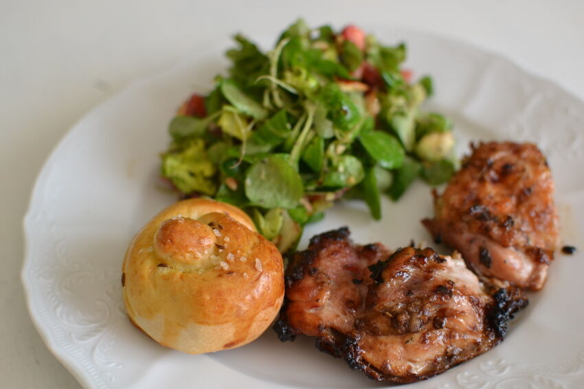 grilované kuřecí maso