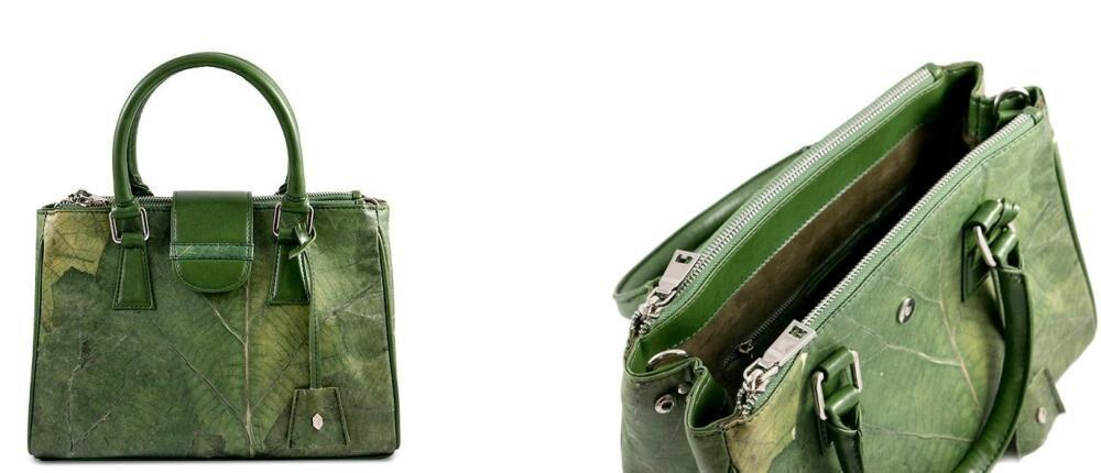 kabelka z listů